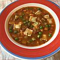 <b>Soupe</b> printanière aux ravioles / Spring <b>soup</b>