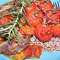 Joues de porc confites au miel, au romarin et aux abricots: plaidoyer pour un joyau pour la chapelle Loc Ildut de Sizun!