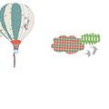 Montgolfière en papier