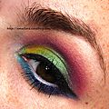 EOTD LE 100EME:CRAZY ELECTRIC MAKEUP.....