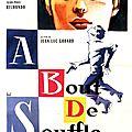 À Bout de souffle - Jean-Luc Godard (1959), Le Professionnel - Georges Lautner (1981)