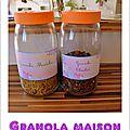 Granola maison....un régal