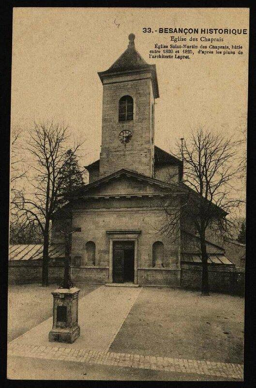 église chaprais lapret