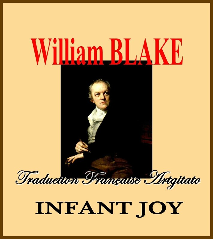 Infant Joy William Blake par Thomas Phillips Traduction Artgitato française