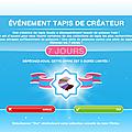 Les Sims freeplay - Evénement 7 <b>Packs</b> de tapis de créateur -