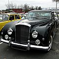Bentley <b>Continental</b> Mulliner Park Ward fastback coupe - 1958