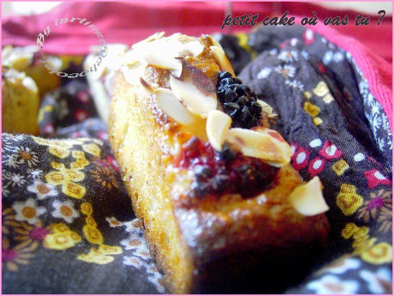 Mini cake amandine