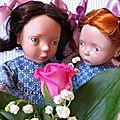 Une, ou plutôt deux robes de Magda pour les jumelles