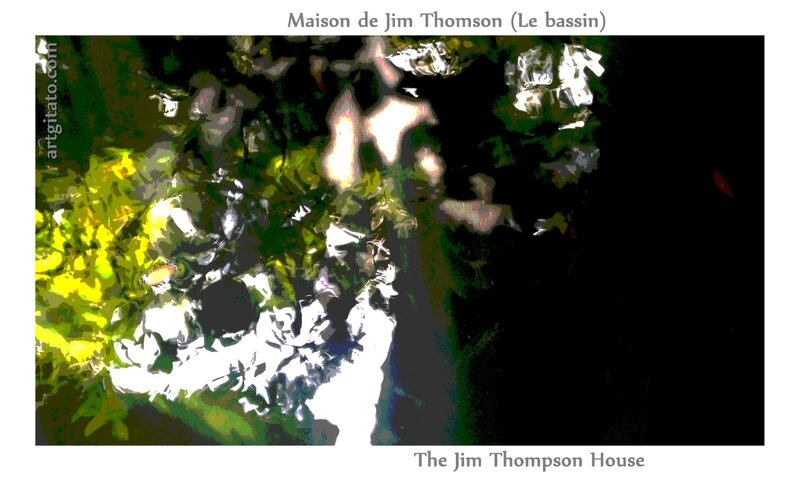 Maison de Jim Thomson The Jim Thompson House Bangkok Thailand Thailande 4