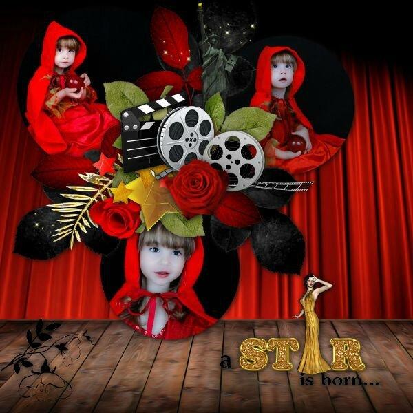 Kitty Scrap - Be Star - photo Nounou 2