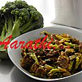 Chinese <b>Beef</b> with Brocoli