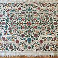 <b>Tapis</b> vintage annes 60 - origine Cachemire, Inde