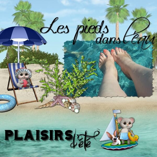 LouiseL - plaisirs d'été - photo perso