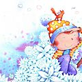 Mélanie Florian-children's book original art for sale-Vente d'illustrations originales