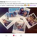 Tweet de Mariana - Photos dédicacées