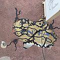 [street <b>art</b> in Grenoble] moutons et serpents aztèques...