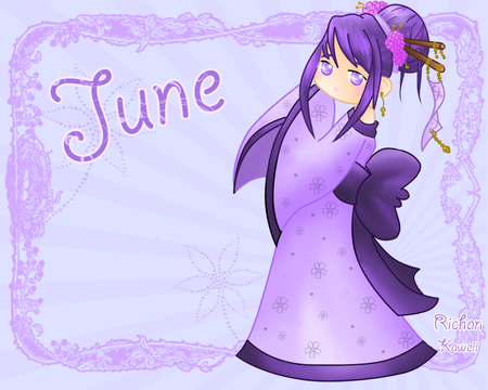 June_by_Kaweii