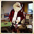 le Père <b>Noël</b> à lécole Duguesclin 19 Déc. 2014