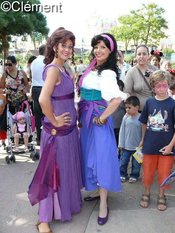 Esmeralda And Phoebus Costumes Esmeralda And P...