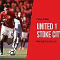 Les buts Manchester United - <b>Stoke</b> City résumé vidéo (1-1)