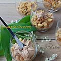 Pommes Poêlées au Caramel Beurre Salé, Crumble Breton, Chantilly <b>Pralinoise</b> ...