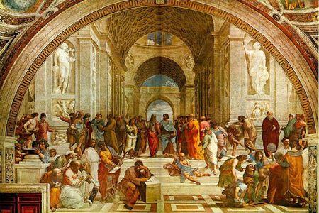 École d'Athènes meilleure image