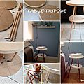 tables de nuit DIY