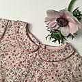 La robe fleurie de la nouvelle année ♥ (et de la varicelle aussi, oui c'est vrai...)
