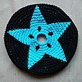 Frisbee étoile bleue