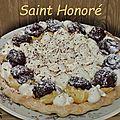 Gâteau façon <b>Saint</b> <b>Honoré</b>