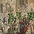 Bal des Ifs de Charles Nicolas Cochin le Jeune, <b>Musée</b> du <b>Louvre</b>, Paris.