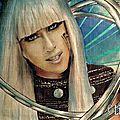 Dessin : <b>Lady</b> <b>Gaga</b>