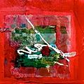 peinture non figurative(atelier)