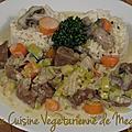 Blanquette <b>Végétarienne</b>...