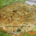 steack de poulet aux légumes