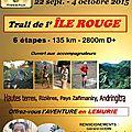 <b>Trail</b> de l'ile Rouge - Prélude
