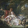De <b>Watteau</b> à Fragonard, les fêtes galantes