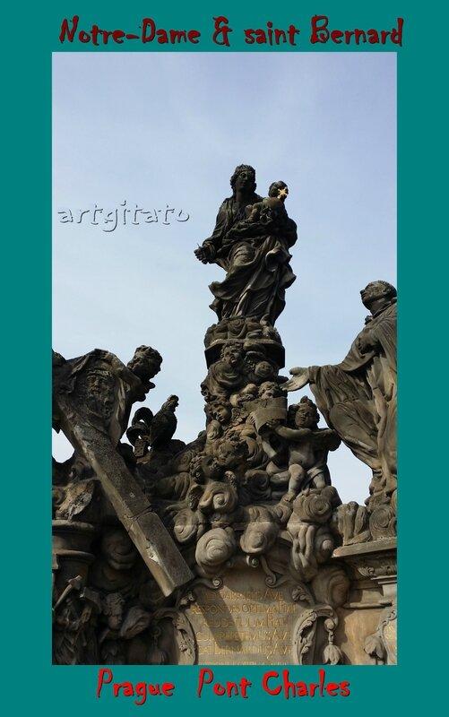 Pont Charles Prague Saint Bernard Notre Dame Artgitato 1