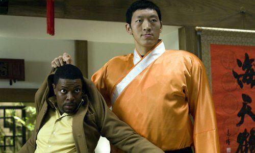 Chris Tucker et Sun Ming Ming