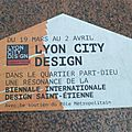 [festival] <b>Lyon</b> City Design 2015
