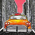 <b>Exemples</b> de Yellow Cab aux ciels enchanteurs