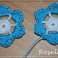 Un tuto pour des boucles d'oreilles <b>fleurs</b> au crochet!