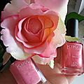 Nail Lacquer vernis de chez <b>kiko</b> (487 Metallic Rose+505 Pearly Honeysuckle Pink)