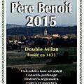 <b>ALMANACH</b> PERE BENOIT 2015 - DOUBLE MILAN - FONDE EN 1835.