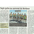 CLUB CYCLOTOURISTE NÉRIS LES BAINS