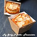 <b>Financiers</b> amande citron