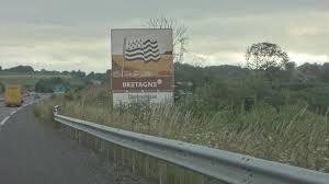 """Résultat de recherche d'images pour """"panneau région normandie rocade pontorson"""""""