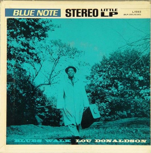lou donaldson - blues walk (album art)