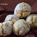 Amaretti fourrés à la confiture de gingembre