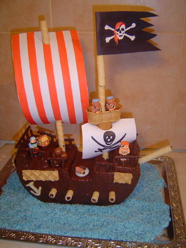 Voile gateau pirate a imprimer home baking for you blog - Gateau a imprimer ...